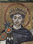 Justinian by Meister von San Vitale