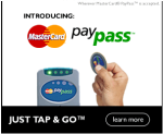 MasterCard paypass advertisement