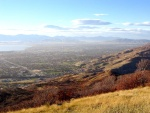 Orem and the north end of Utah Valley from the Squaw Peak lookout