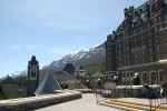 Banff Springs resort.
