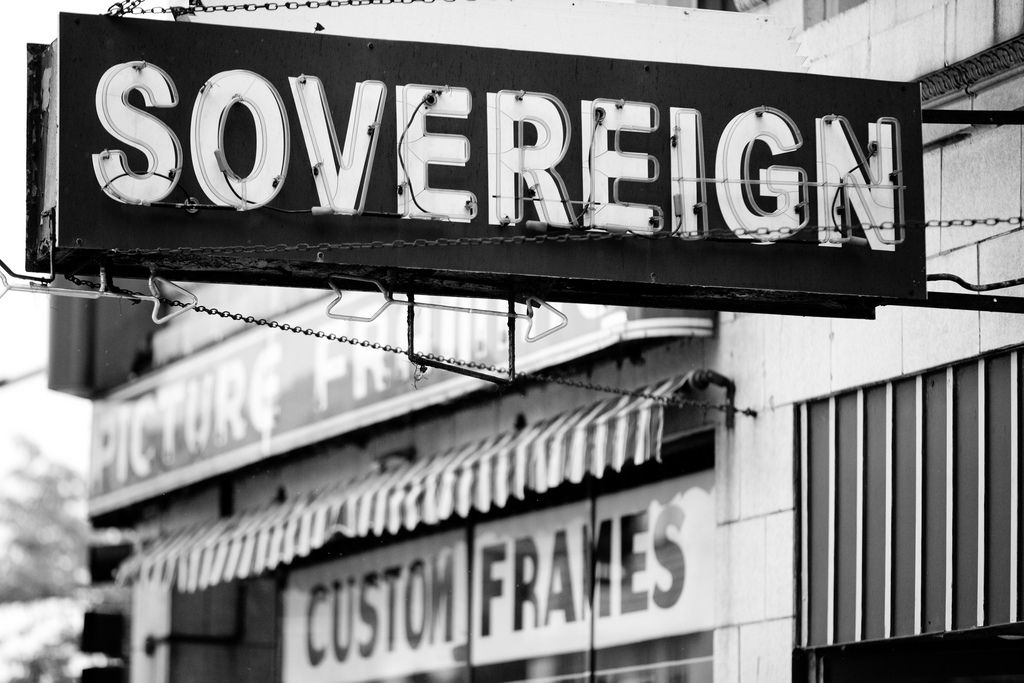 Sovereign; Image by Thomas Hawk, CC BY-NC 2.0