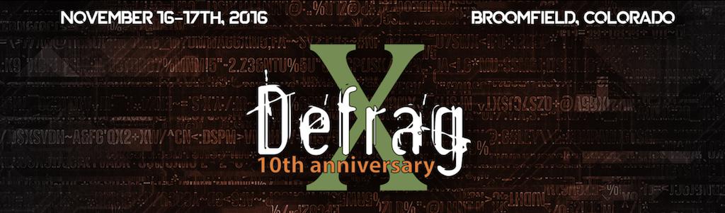 Defrag logo